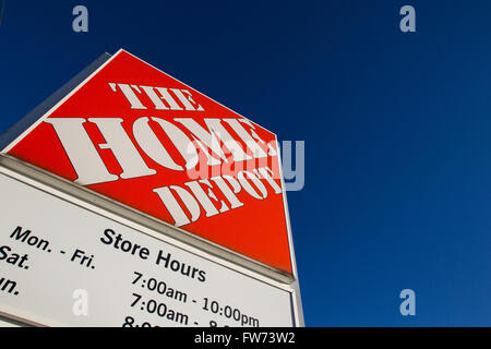 Home Depot home improvement store in Kingston, Ont., on Friday Feb ...