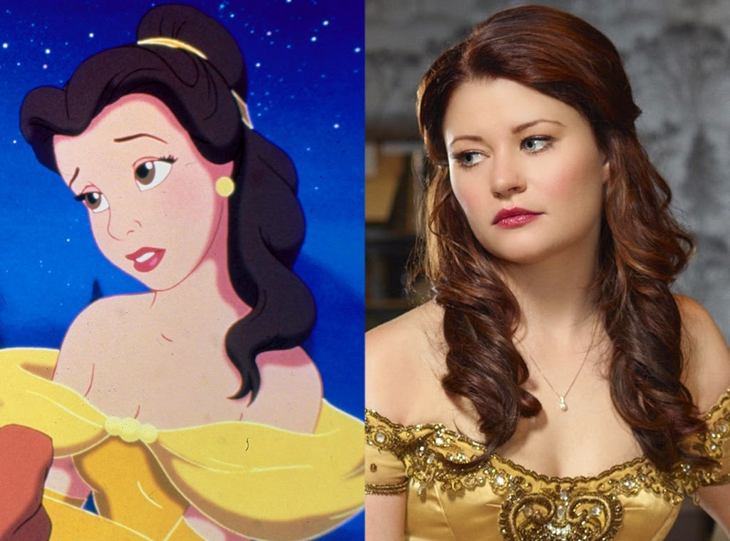 Belle, Beauty and the Beast, Animated Disney vs. Live Action Disney