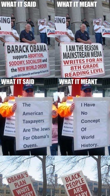 perpetualight: derpghost:Tea party protest signs ...