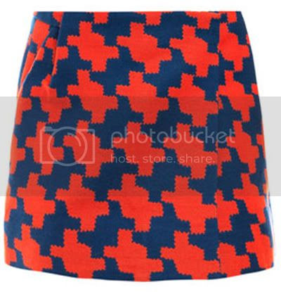 Dogtooth skirt