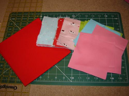 New Quilt in Progress