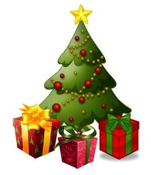 Christmas Gift Saree