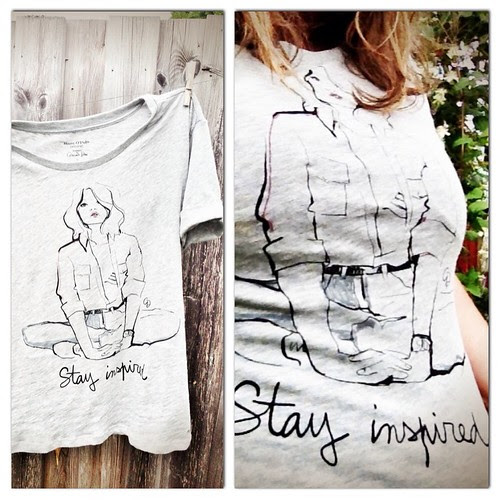 stay inspired t-shirt mop
