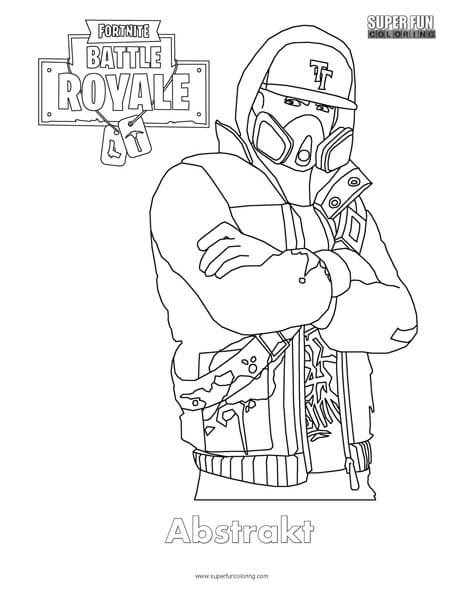 Fortnite Omega Skin Coloring Page | Fortnite Generator ...