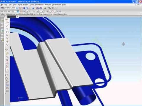 NX CAD - NX Sheet Metal - Modelowanie części blaszanych
