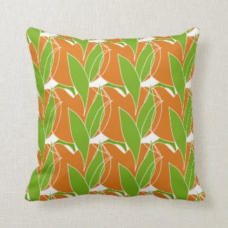 Tropics Style Throw Pillow
