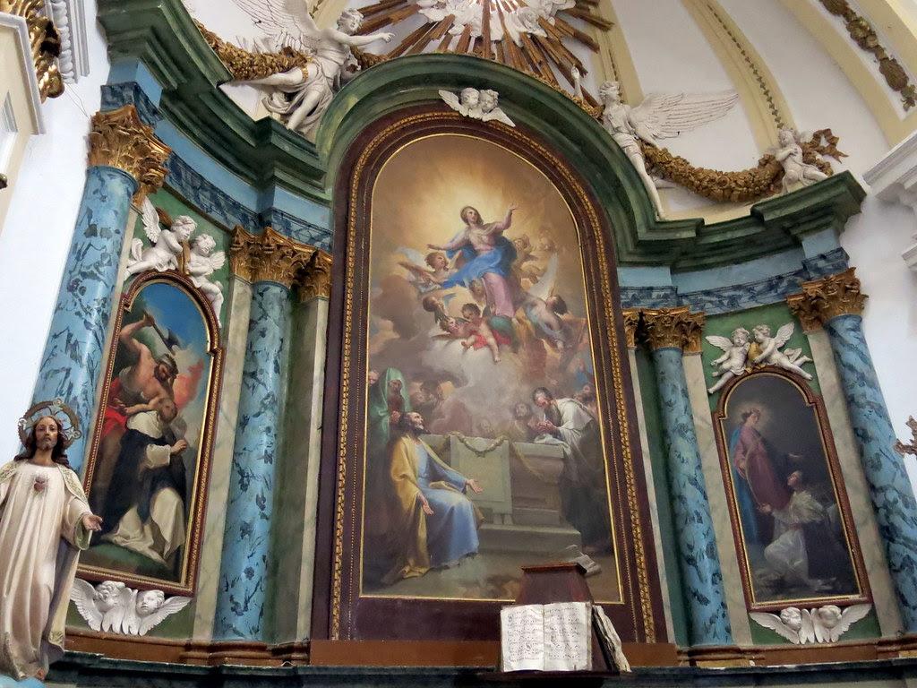 Miércoles Santo en la Iglesia parroquial de Ntra Sra. de la Asunción de Valdemoro