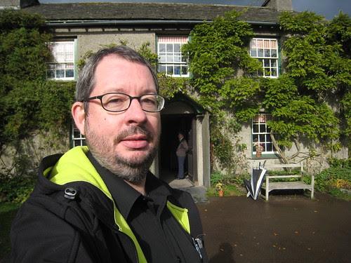 Outside Hilltop, the Potter residence