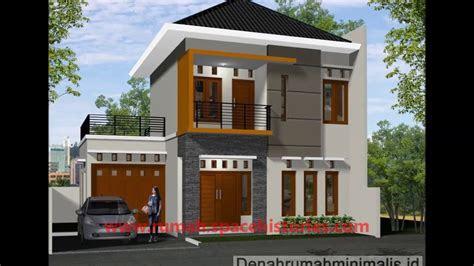 rumah minimalis tingkat - desain rumah