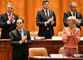 Romania parliament gives green light to minority liberal govt