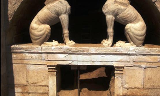 Amphipoli Το κόλπο των αρχαίων Μακεδόνων για να εγκλωβίσουν τυμβωρύχους που θα επιχειρούσαν την σύληση του τάφου