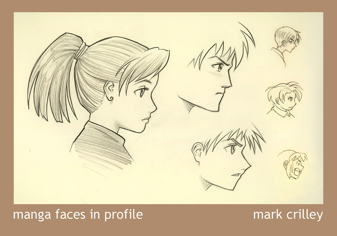 Manga Tutorial Base: Tutorial: Manga Faces