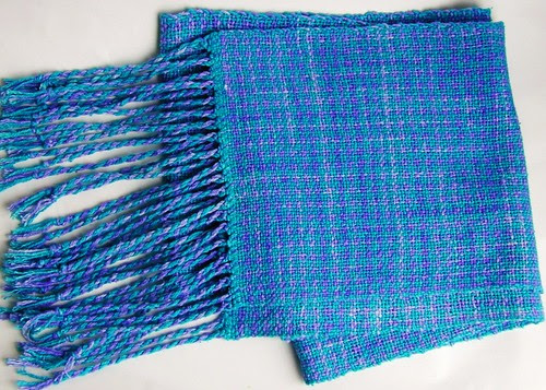 1st Spunky Weaving Club Project