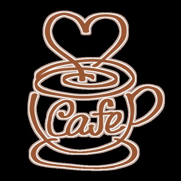 カフェのマークのイラスト かわいいフリー素材が無料のイラストレイン