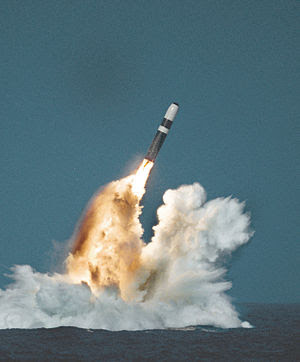United States Trident II (D-5) missile underwa...