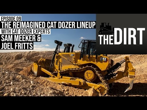 Video: Cat Dozer Experts Explain New Restructured Dozer Lineup | The Dirt #09 oleh - alatberatkomatsu.best