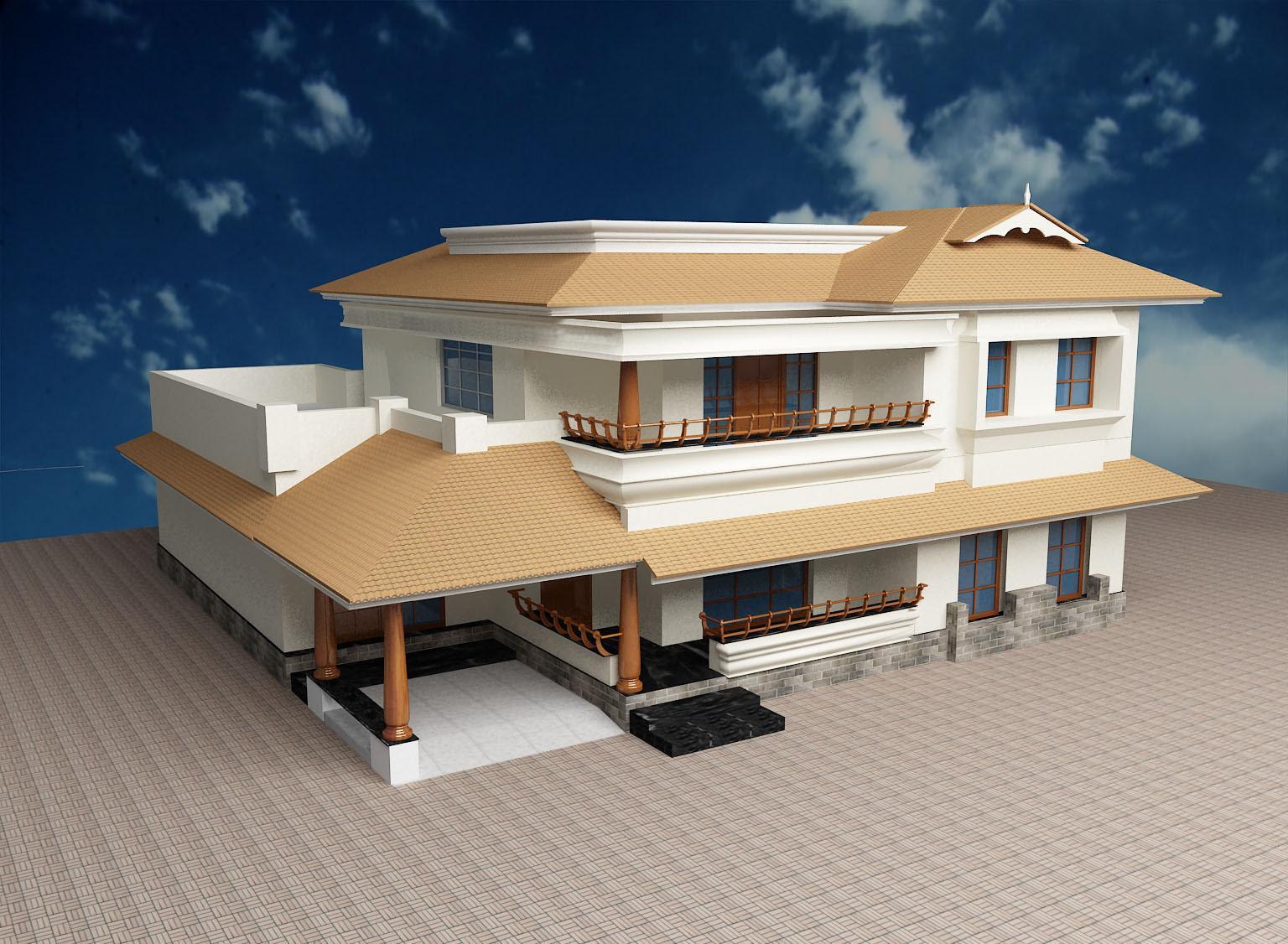 Home Front Pillar Design Kerala Style Home Design Inpirations