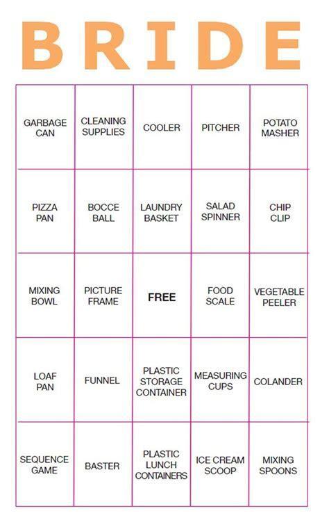 The 25  best Bridal shower bingo ideas on Pinterest