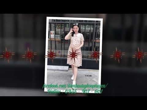 Mẫu Đầm Bầu Đẹp Nhất Tháng 6 Năm 2020
