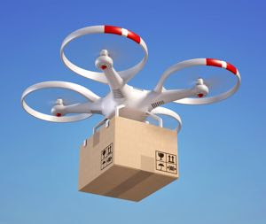Startup makes first official urban drone delivery in U.S.