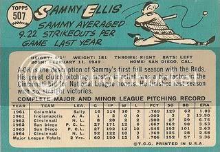 #507 Sammy Ellis (back)