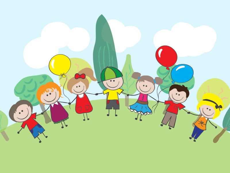 Children Festival Powerpoint Templates Green Holidays Free Ppt Backgrounds And Templates
