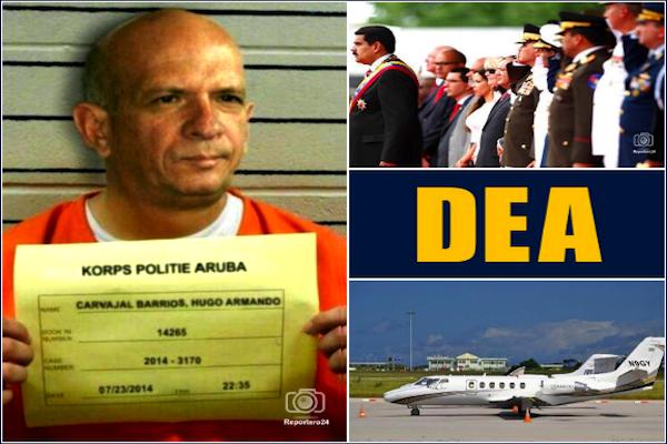 Gobierno-repudia-detención-de-Hugo-Carvajal-DEA-narcotrafico-Aruba