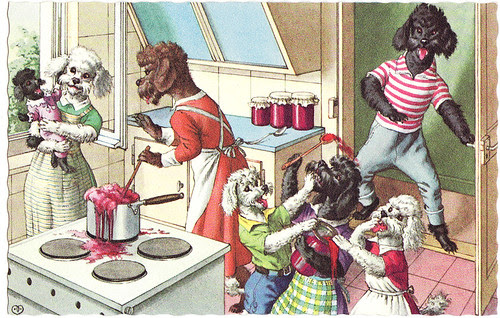 poodles cooking