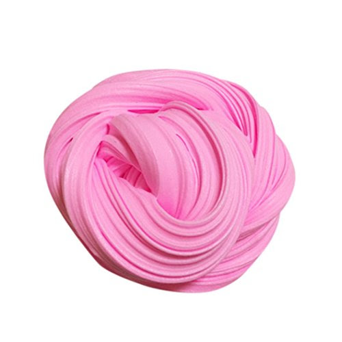 How to make slime how to make inverlee fluffy floam slime cotton mud toys scented stress relief no borax kids toy sludge toy pink buy online specifications ccuart Image collections