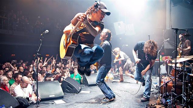Les Cowboys Fringants en concert