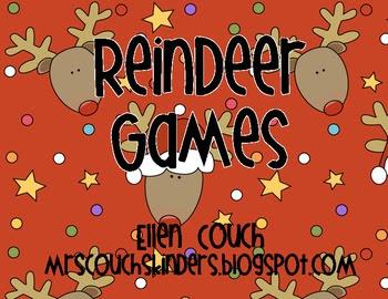 Sight Word Reindeer