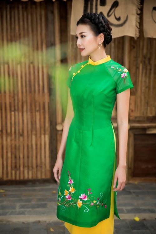 Bật mí cho 'nàng điệu' 5 kiểu áo dài 'thần thánh' vừa đẹp lại vừa thoải mái diện Tết - Ảnh 6.