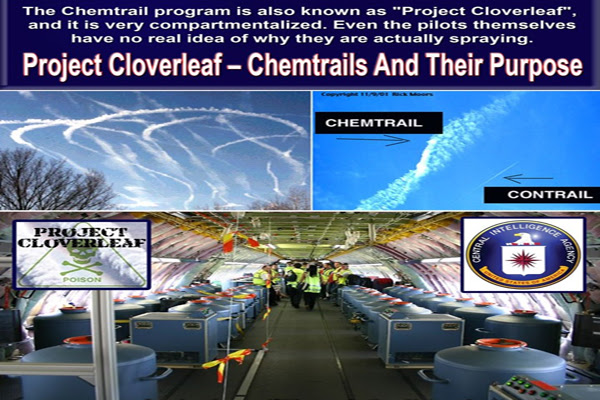 Project Cloverleaf – Chemtrails and their Purpose