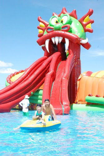 Kids at EK Biki Waterworldedited