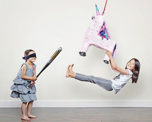 Fotos originales de travesuras infantiles