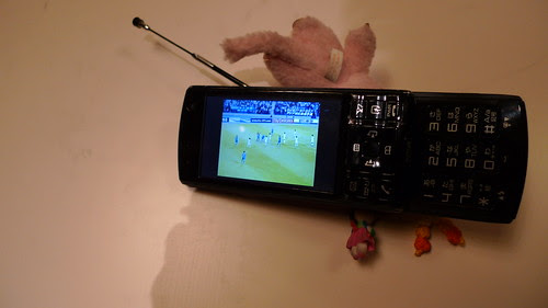Live telecast of football game on mobile phone