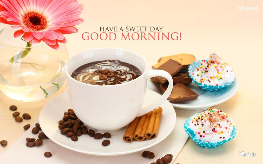 Have A Sweet Day Good Morning Hd Wallpaper