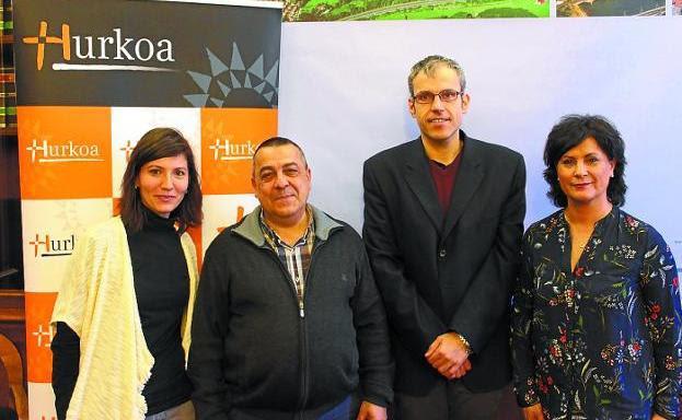 Jesyca Costa, José Ignacio del Pozo, Sergio Corchón y Mila Holgado./F. DE LA HERA