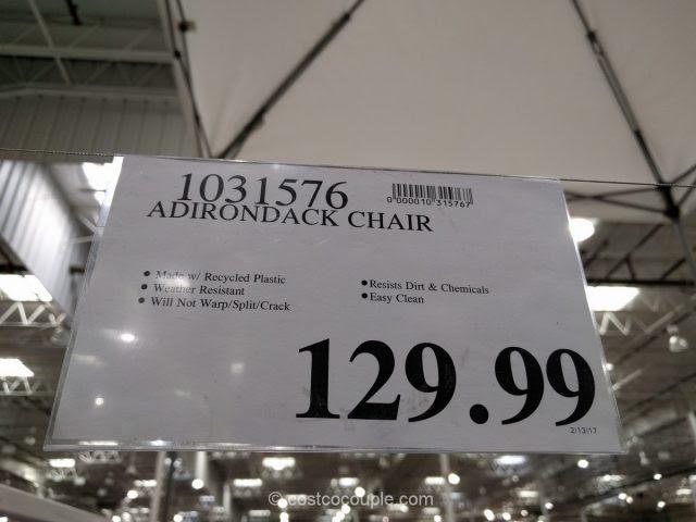 Leisure Line Classic Adirondack Chair
