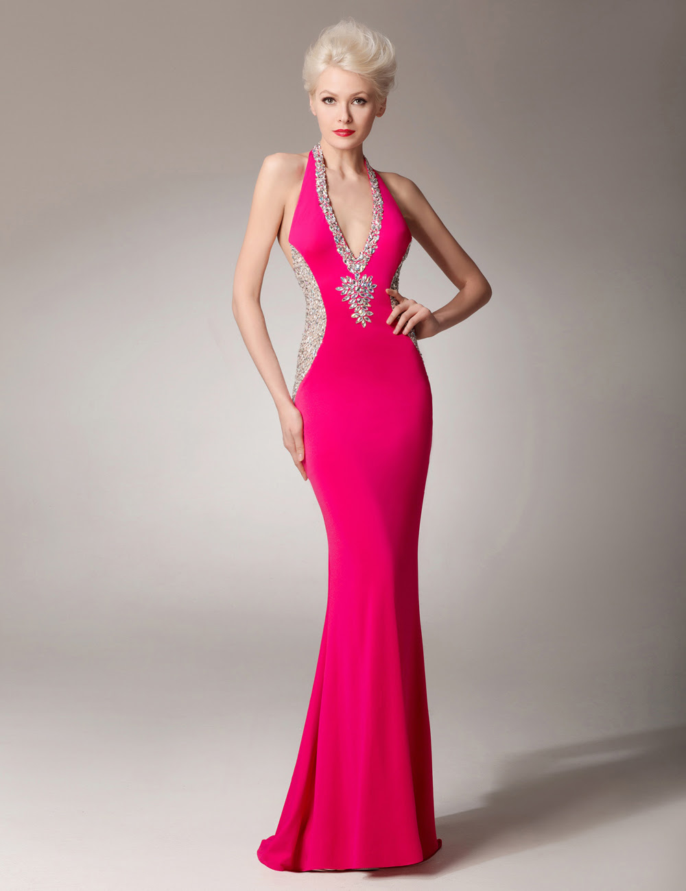 Beaded evening dresses china