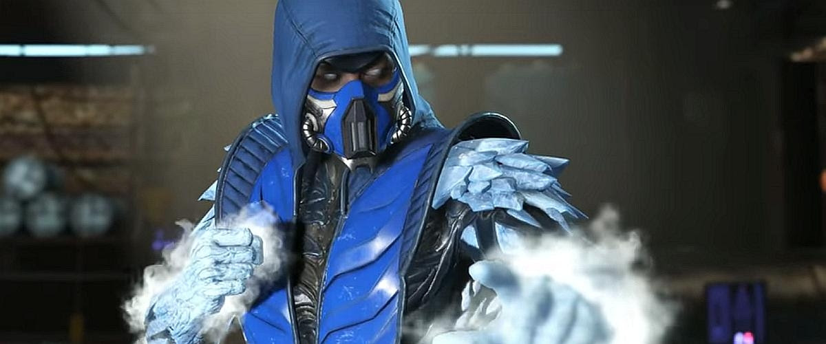 Warming up to Sub-Zero in Injustice 2 screenshot
