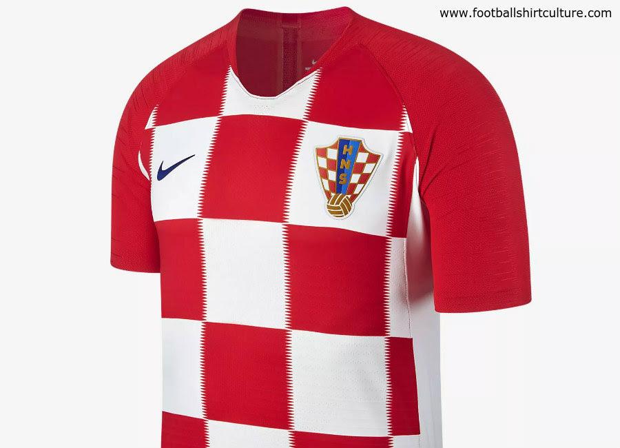 3a4a2c1ff51 Croatia 2018 World Cup Nike Home Kit 1718 Kits Football Shirt Blog
