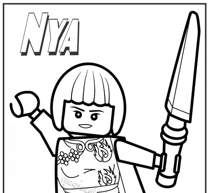 ninjago ausmalbilder nya