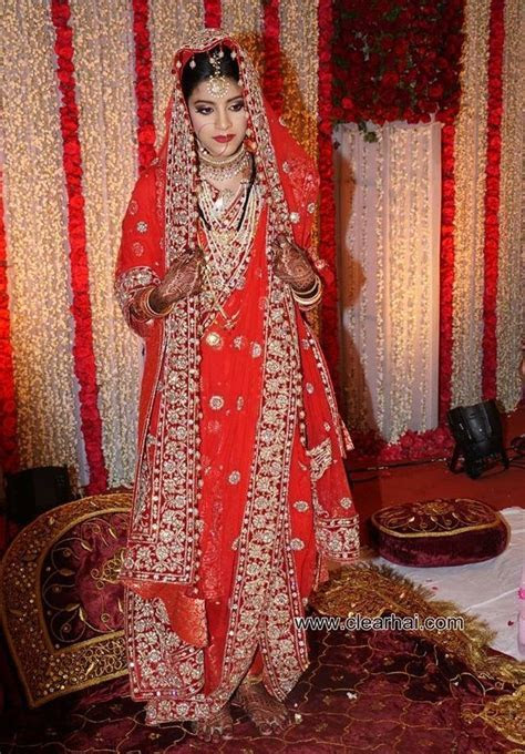 Khada Dupatta   Hyderabadi Bride   The BridalTouch   Khada