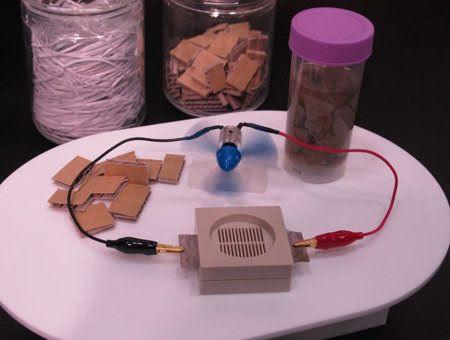 La bio-batería de Sony genera electricidad a partir de papel