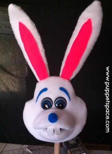 white rabbit head