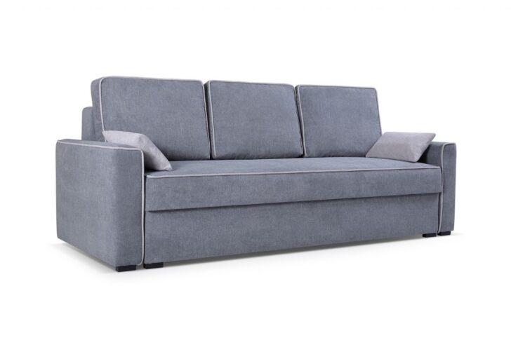 Big Sofa Grau Stoff Grober Chesterfield Couch Reinigen ...