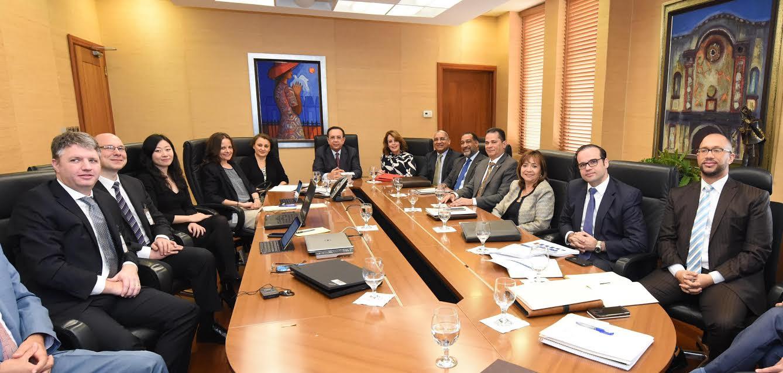 Autoridades Banco Central se reúnen misión Fondo Monetario Internacional