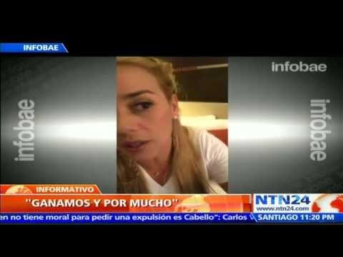 """""""GANAMOS Y GANAMOS POR MUCHÍSIMO"""": EL ESPERANZADOR MENSAJE DE LILIAN TINTORI SOBRE RESULTADOS DEL 6D"""