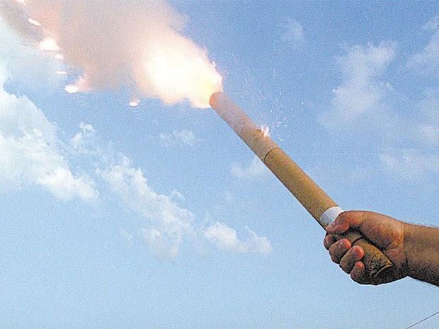 rojão fogos artifício (Foto: Lalo de Almeida/Folhapress)